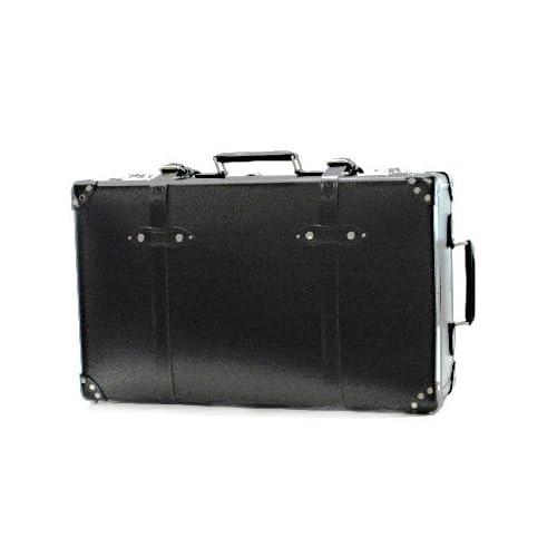 """(グローブトロッター) GLOBE TROTTER スーツケース CENTENARY 28インチ """" Suit Case W/W GTCNTBB28SC BLACK/BLACK [並行輸入品]"""