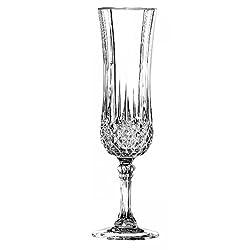 Cristal dArques Longchamp Champagne Flute 140ml, Set of 6