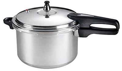 Mirro 92180A 8-Quart Aluminum Pressure Cooker Dishwasher Safe Cookware, Silver from WearEver