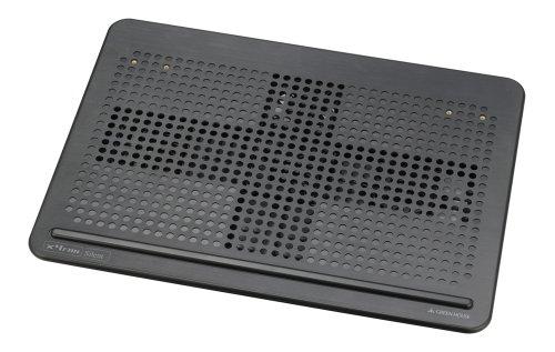 グリーンハウス USB接続ノートPCクーラー アルミタイプ4ファン Lサイズ GH-PCF4AK
