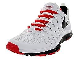 Nike Men\'s Free Trainer 5.0 White/Black/Lt Crimson Training Shoe 7 Men US