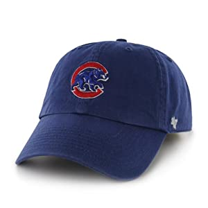 MLB Chicago Cubs '47 Clean Up Adjustable Hat, Royal - Alternate, One Size