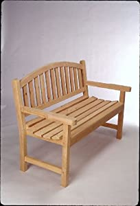 Cedar 4' Monet Bench Made in USA By Tidewater Workshop from Tidewater Workshop