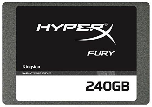 Kingston HyperX Fury SATA 3 2.5 240GB Solid State Drive W/Adapter