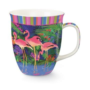 Flamingo Ceramic Mug, 16 oz.