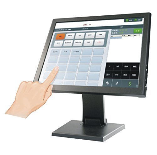 15 Inch POS TFT LCD Touch Screen Monitor