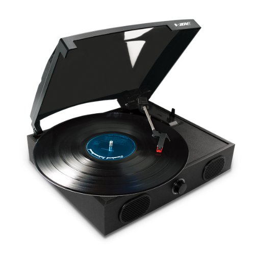 Lowest Prices! VIBE SOUND VS-2002-SPK USB Turntable with Built-In Speakers