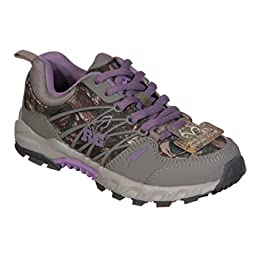 Realtree Girl\'s Miss Bobcat Hiking Shoes Realtree Xtra & Purple 01ME, RC3097501