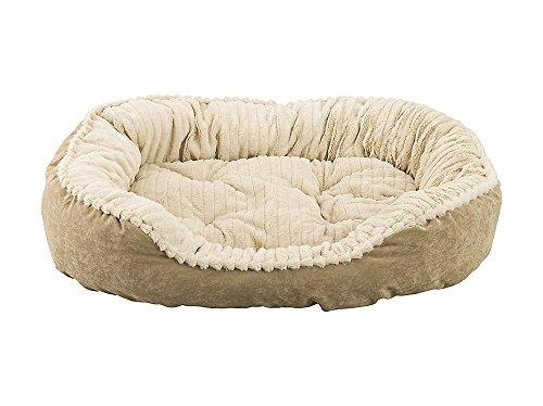 carved-plush-cuddler-step-in-bed-32x25x9-tan