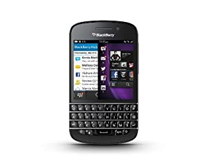 "Blackberry Q10 - Smartphone, schermo amoled da 7,9 cm (3,1""), Cortex-A9 Dual-Core, 1,5GHz, 2GB RAM, 16GB, fotocamera da 8 Megapixel, tastiera Qwertz, BlackBerry 10 OS from BlackBerry"