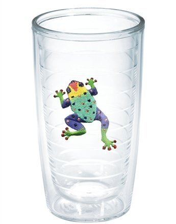 Tervis Tumbler Assorted Gecko Frog 16-Ounce Double Wall Insulated Tumbler, Set of 4