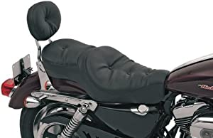 Drag Specialties Wide Low-Profile Seat - Pillow 0804-0297