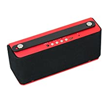 buy Grl® Travel (Loud Usa X05) Ultimate Edition Aluminium Portable Wireless Bluetooth Speaker, With 3000 Mah Rechargeable Li-Ion Battery And Built In Speakerphone With Latest Bluetooth 4.0 Technology & Nfc Function Includes A Free Travel Carrying, Powerful Cr