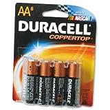 DURMN1500B8Z - Duracell CopperTop Alkaline Batteries with Duralock Power Preserve Technology