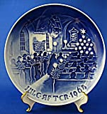 "Bing & Grondahl 1968 Christmas Plate ""Christmas In Church"""