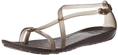 crocs Women's 14175 Really Sexi Sandal,Espresso/Espresso,6 M US