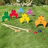 Frog Croquet Set