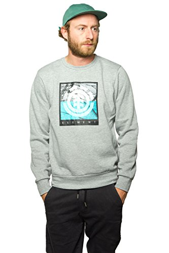 element-herren-pullover-flow-logo-sweatshirt