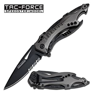 Tac Force TF-705 Series Assisted Opening Folding Knife 4.5-Inch Closed by TAC Force