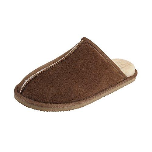 a36b63396b5f Clpp li Mens Slip On Slippers - Tan - 12 - Import It All