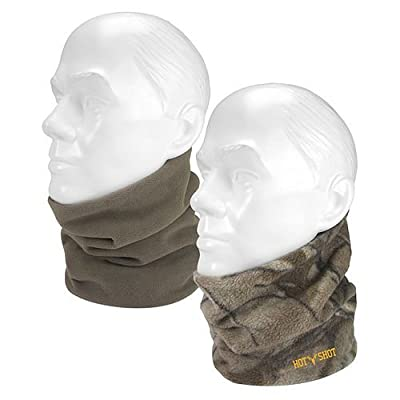 Hot Shot Men's Gator Neck Gaiters, Realtree Xtra/Canteen, One Size