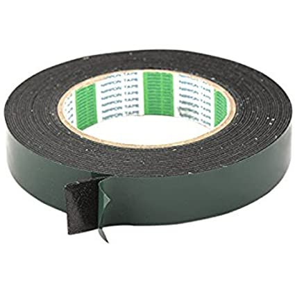 Highly-Resistant-Foam-Based-Double-Sided-Multi-purpose-Adhesive-Tape-10-meters-Long-(12-mm-(1/2-Inch))