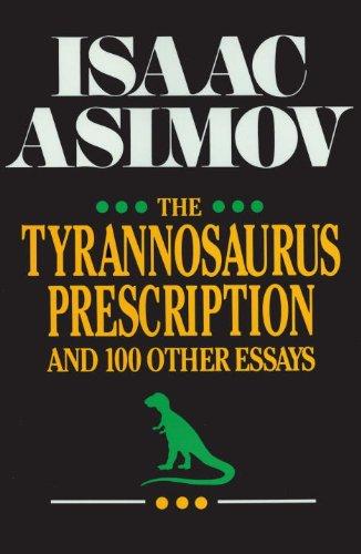 The Tyrannosaurus Prescription