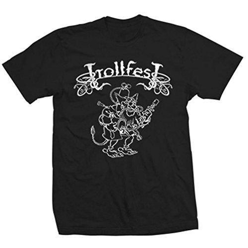 Trollfest - Top - Uomo nero Large