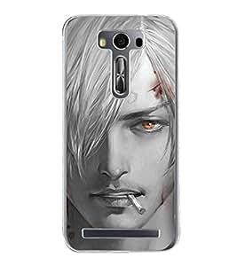 Cool Boy 2D Hard Polycarbonate Designer Back Case Cover for Asus Zenfone Selfie ZD551KL