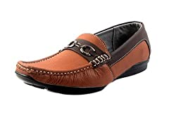 Woodbury Tan Jack Leather Loafers