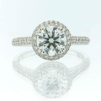 2.46ct Round Brilliant Cut Diamond Engagement