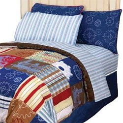 Disney Train Engine Express Full Bedding Set