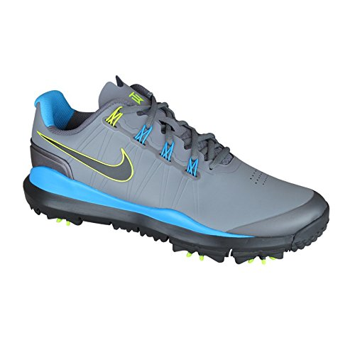 Nike Golf Men's Nike TW '14 Golf Shoe,Cool Grey/Vivid Blue/Metallic