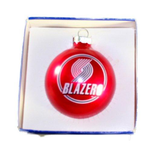 Blazers Christmas Ball Glass Ornament Sports Collectors Series