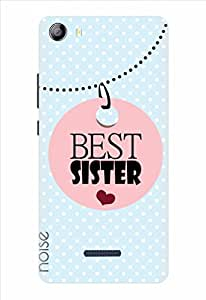 Noise Best Sister-Skyblue Printed Cover for Micromax Canvas 5 E481