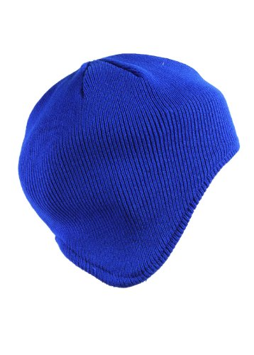Hot Deal Plain Knit Beanie Skull Cap With Ear Covers ( Choose From?8 Colors )