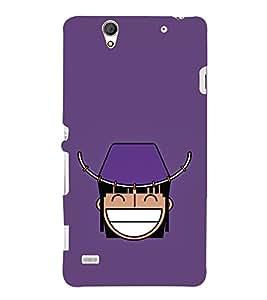 Funny Cartoon 3D Hard Polycarbonate Designer Back Case Cover for Sony Xperia C4 Dual :: Sony Xperia C4 Dual E5333 E5343 E5363