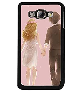 Printvisa Bride And Groom Walking Back Case Cover for Samsung Galaxy A8::Samsung Galaxy A8 A800F