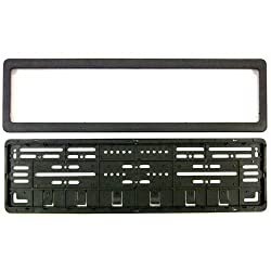 EASY4BUY CAR Number Plates Frame - (number plates holders)-Front and Back for Maruti Suzuki Ciaz