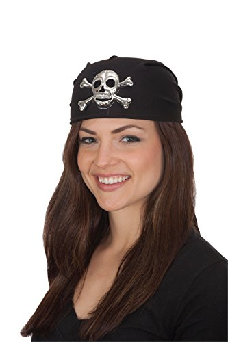 Jacobson Hat Company Women's Pirate Skull Cap