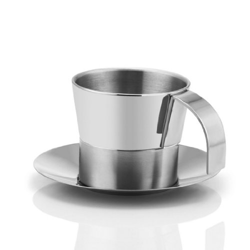 g35004 stainless steel coffee cup mug set coffee equipment fashion