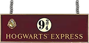 Harry Potter: Hogwarts Express Platform 9 3/4 Wooden Sign