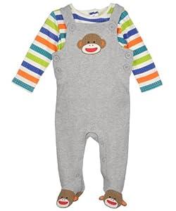 "Sock Monkey ""Mom's Monkey"" 2-Piece Outfit"