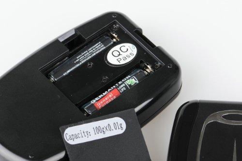 Quantum Abacus AS Professionel 500g/0.1g: Balance électronique de poche professionelle /pour courrier, école, cuisine avec trousse effet cuir
