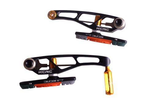 Buy Low Price KCNC VB1 MTB Mountain Bike V-Brake Set Calliper Front & Rear Alloy Black (VB1)