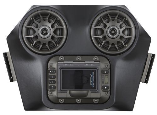 Ssv Works Wp-Rzo Polaris Rzr570, 800 And 900Xp Bluetooth 2 Speaker Overhead Stereo System