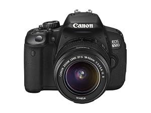 Canon EOS 650D Appareil photo numérique Reflex 18 Mpix Kit Objectif 18-55mm IS II Noir