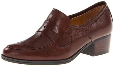(3折)玖熙Nine West女士 复古真皮时尚休闲皮鞋Takenomore Loafer黑色$26.21