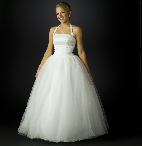 simple princess ball gown wedding dress