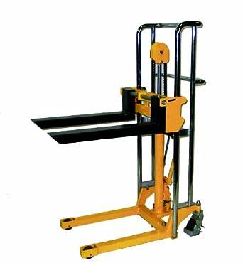Handle polyurethane wheels 880 lb load capacity 59 quot lift height